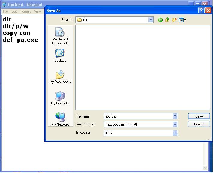Create Batch File in Hindi