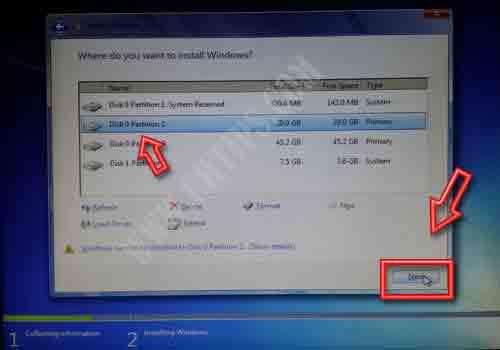 Install Windows 8 Using USB Pen drive