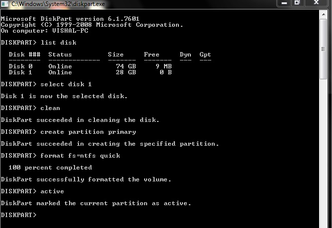 How To Create A Bootable USB Pendrive
