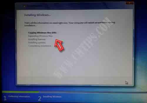 Install Win7 in Hindi