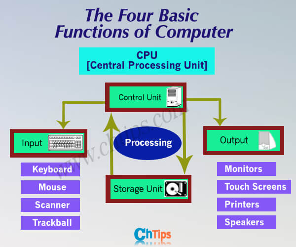 Functions of Computers