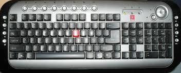keyboard functions of computer hindi